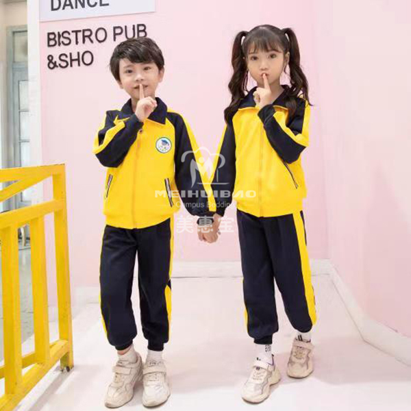 中国的学校校服以运动校服为主
