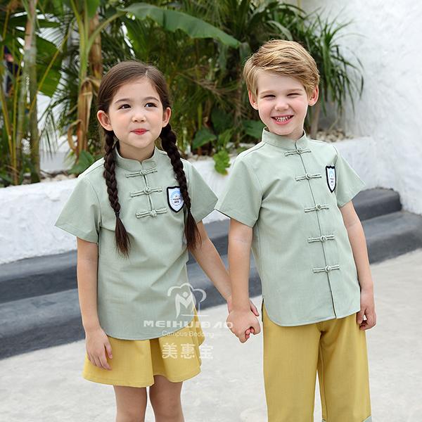 最少60%的幼稚园服装布料是棉