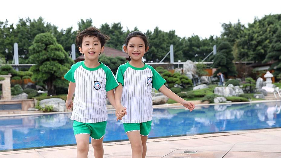 夏季运动款幼儿园服展示图