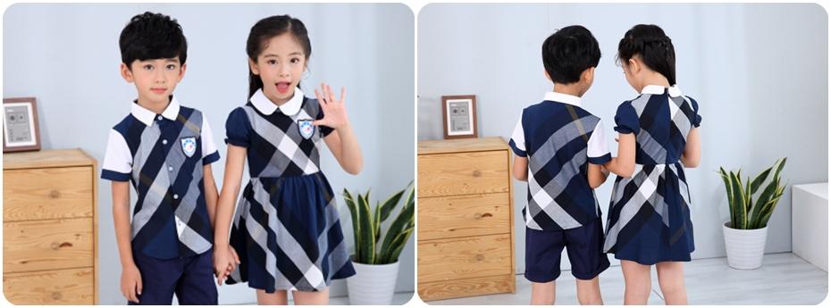 夏季礼服款幼儿园园服展示图