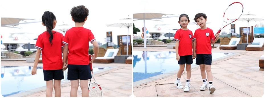 夏季运动款园服产品展示