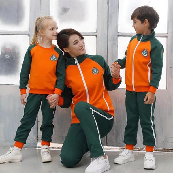 冬季运动款园服H920007